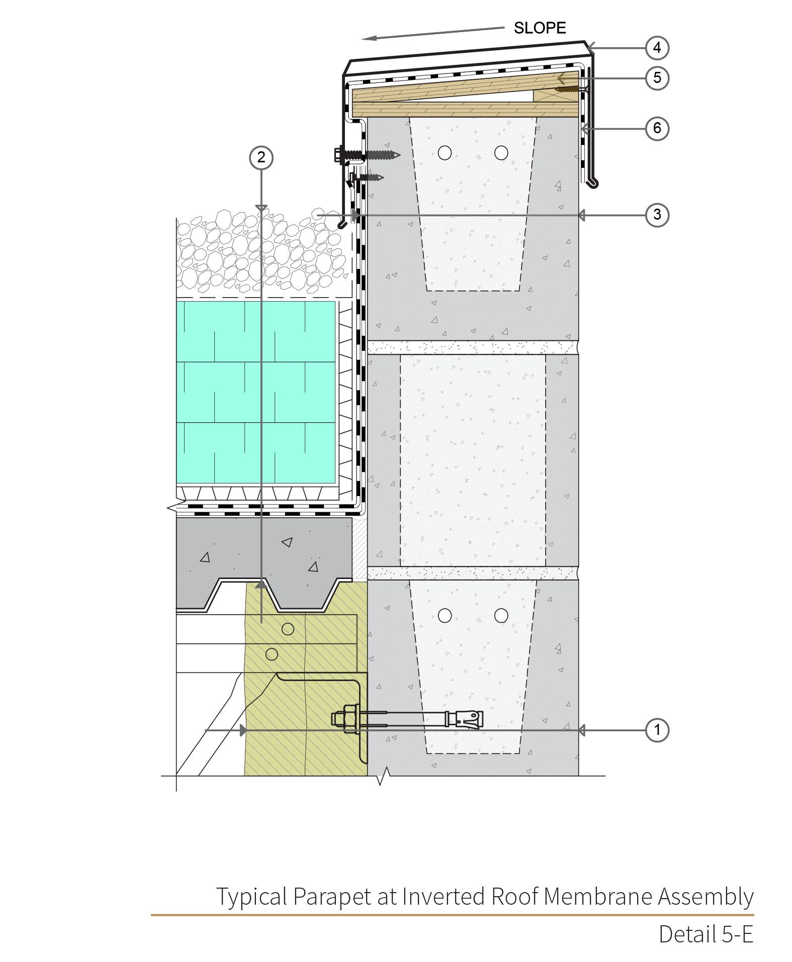 Assembly 5 Detail 5E