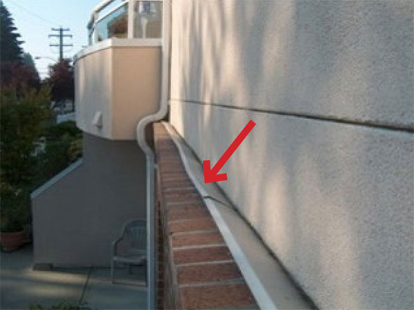 Metal Flashing In Brick Cavity Pictures To Pin On