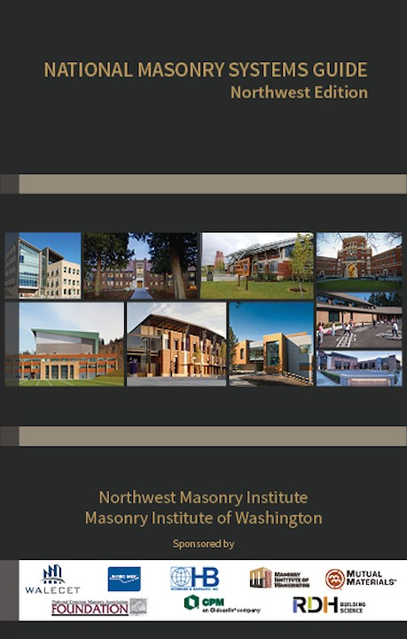 2016 Masonry Systems Guide Book Cover